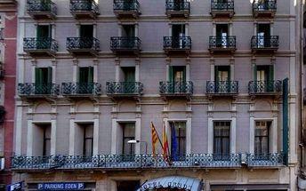 Španělsko - Barcelona na 3 dny, snídaně s dopravou letecky z Prahy