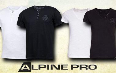Dámská a pánská trička Alpine Pro