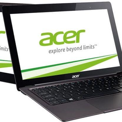 Acer Aspire Switch 12S (SW7-272-M6S5), černá - NT.GA9EC.002 + Microsoft Office 365 pro domácnosti - 1 rok v ceně 2299 Kč