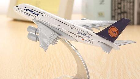 Model letadla - A380 Lufthansa
