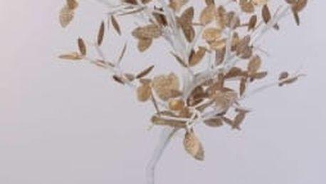 Vánoční světelný strom zlaté listy, 96LED, 100 cm, teplá bíláEXCELLENT KO-AXF201330