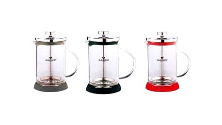 Konvička na čaj a kávu French Press 800 ml, 3 barvy BLAUMANN BL-1443, Šedá