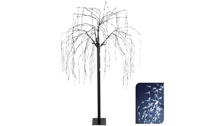Vánoční světelný strom vrba, 400LED, 180 cm, bíláEXCELLENT KO-AXF200780