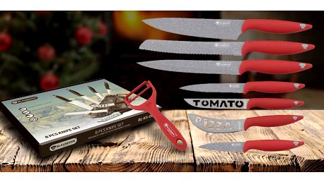 Sady nožů Blaumann s mramorovaným povrchem