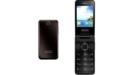 Mobilní telefon Alcatel Onetouch 2012D Dual Sim (2012D-2AALCZ1) hnědý