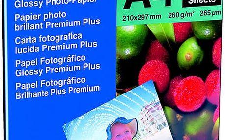 Brother Foto papír BP71GA4, A4, 20 ks, 260g/m2, lesklý