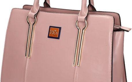 Nobo kabelka 0660, růžová, poslední kus skladem