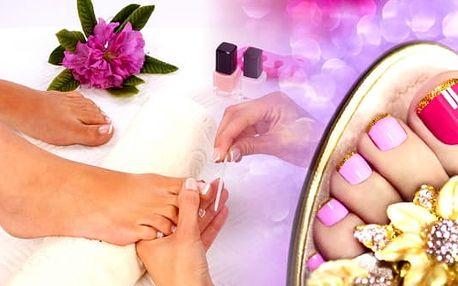 Mediciální přístrojová pedikúra - i na podzim již v uzavřených botách můžete mít krásné a zdravé nohy. O váš lehký krok při každém došlápnutí se postarají v pražském salonu Beauty.