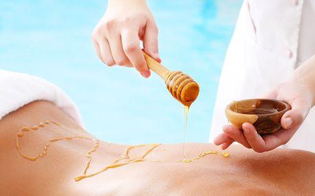 Zimní detoxikační medová masáž