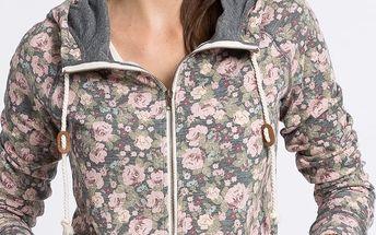Review - Mikina Big Collar Flower