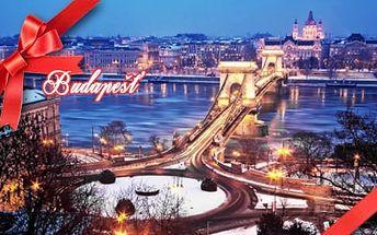 Adventní Budapešť : 1denní zájezd pro 1 osobu z Brna nebo Prahy a Pávova