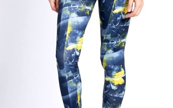 adidas Performance - Legíny Flower Tight