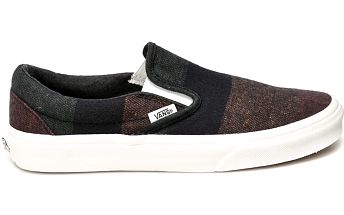 Vans - Tenisky Classic Slip On Wool Stripes
