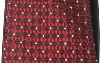 Kravata, manžetové knoflíčky a kapesníček v dárkovém balení včetně poštovného