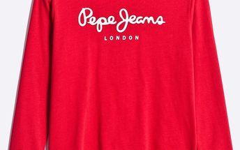 Pepe Jeans - Dětské tričko s dlouhým rukávem