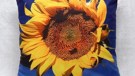 Polštář - slunečnice - dodání do 2 dnů