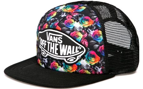 Vans - Čepice Beach Girl Trucker Rainbow