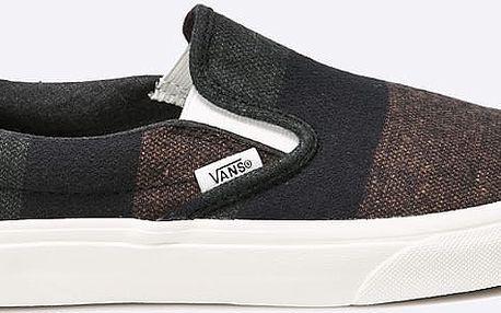 Vans - Tenisky Classic Slip On Wool Stripes