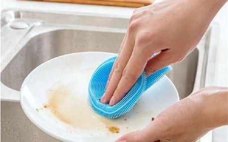 Silikonová houbička na nádobí
