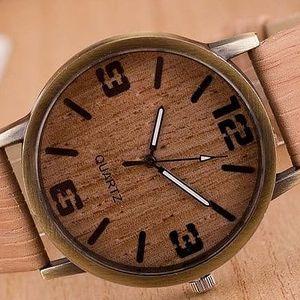Dámské hodinky s elegantním bambusovým designem ve 3 barvách