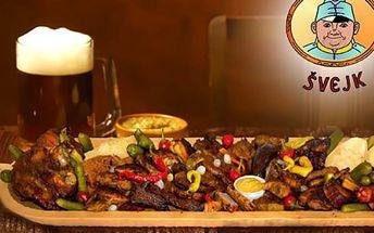 Porce masa v Restauraci Švejk až pro 30 osob
