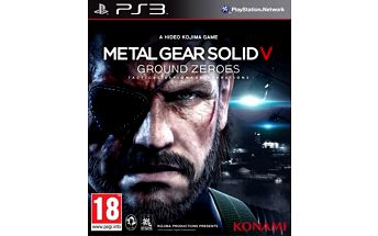 Metal Gear Solid: Ground Zeroes - PS3 - 4012927056769
