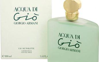 Armani Acqua Di Gio - toaletní voda s rozprašovačem 100 ml