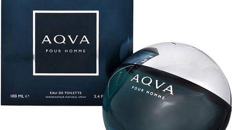 Toaletní voda pro muže Bvlgari Aqva Pour Homme 100ml