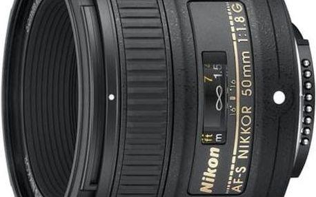 Nikon NIKKOR 50MM F1.8G AF-S NIKKOR černý