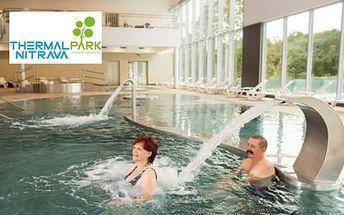 Pobyt plný zábavy a relaxu ve vodním světě Thermal Park Nitrava, nyní i jako prosincový last minute