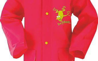 LOAP Dívčí pláštěnka Smoky - růžová