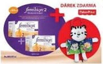 Femibion 2 s vitamíny D3 30 + 30 tbl. Dvojbalení