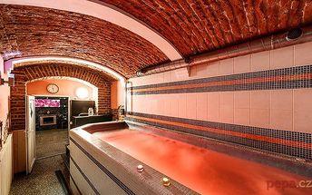90minutový vstup do wellness pro 2 osoby v relax centru Anděl Apartmánů v Praze