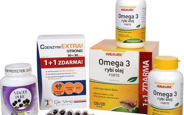 Sada Na Srdce - Maqui Pure 90 kapslí + Rybí olej Forte - EPA + DHA 60 tob. + 7 tob. ZDARMA + Coenzym Extra! Strong 60 mg 30 tob. + 30 tob. ZDARMA