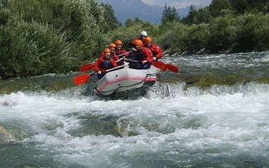 Nezapomenutelný zážitek. Rafting nejdravější řeky Belá s fotkami a HD videem