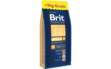 Brit Premium Dog Adult M 15 kg