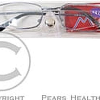 American Way Dioptrické brýle čtecí + 3.50 modré v etui