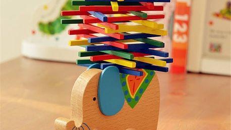 Dětská balanční hračka Slon