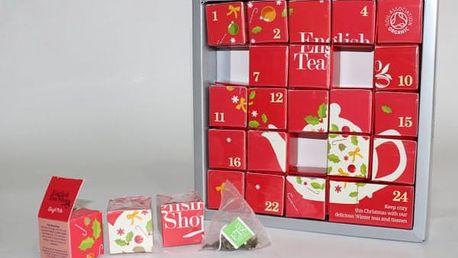 Adventní kalendář s čaji