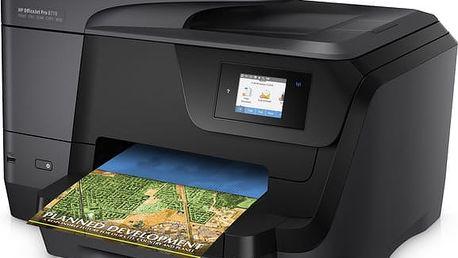 Inkoustová multifunkční tiskárna HP Officejet Pro 8710 - D9L18A
