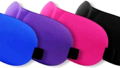 Maska na spaní 3D - více barev