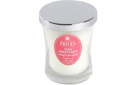 Prices vonná svíčka ve skle růžový grapefruit 9,5 cm
