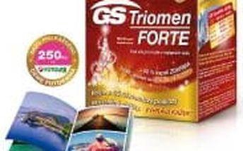 GS Triomen Forte vánoční balení 80+40 kapslí + DÁREK