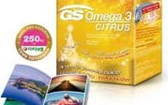 GS Omega 3 Citrus vánoční balení 120+60 kapslí + DÁREK