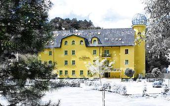 3denní romantický pobyt s wellness pro 2 osoby v hotelu Akademie Hrubá Voda u Olomouce