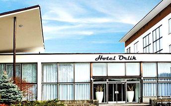 Luxusní pobyt pro dva ve Wellness hotelu Orlík****, bazén, vířivka, sauna a příjemná masáž.