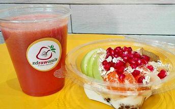 Ovocná pochoutka: Fruit Cake + ovocný fresh