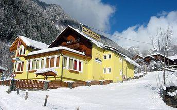 Silvestr na horách: Rakousko - Mölltal / Ankogel na 8 dní, polopenze s dopravou vlastní