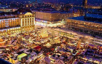 Celodenní zájezd na vánoční trhy v Drážďanech pro 1 osobu