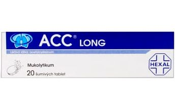 ACC LONG 20x600 mg šumivých tablet